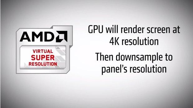 Virtual Super Resolution