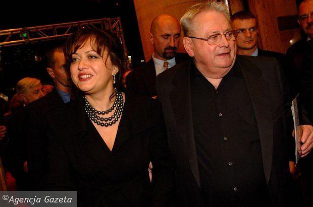 Aleksander Gudzowaty z żoną Danutą