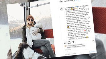 Kasia Tusk pisze, jak radzi sobie z chorobą córki