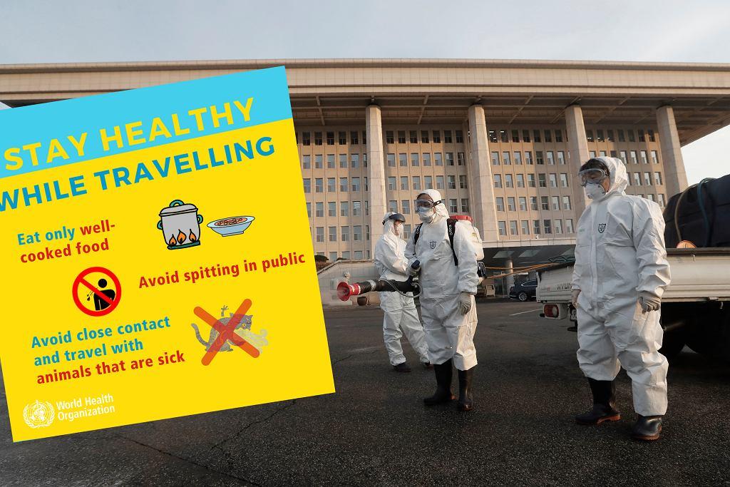 Koronawirus. WHO radzi jak zachowywać się podczas podróży (zdjęcie ilustracyjne)