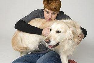 Agata Bagdach z psem