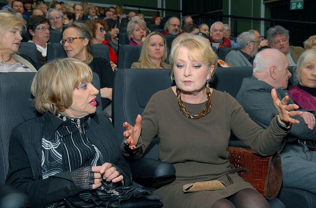 Krystyna Sienkiewicz i Magdalena Zawadzka