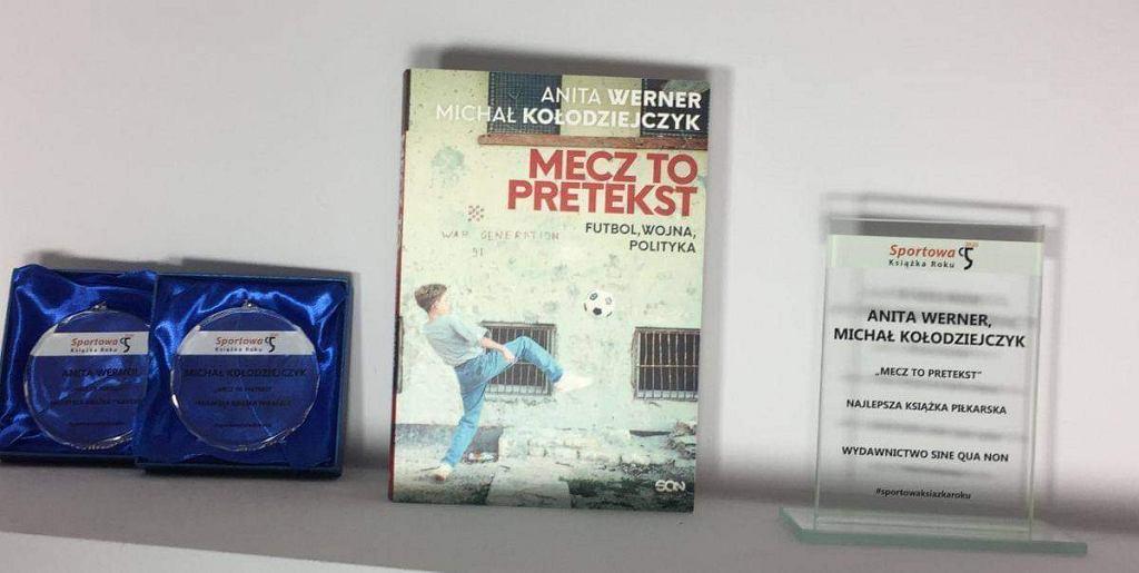 Najlepsza książka piłkarska plebiscytu Sportowa Książka Roku 2020: Michał Kołodziejczyk i Anita Werner 'Mecz to pretekst'