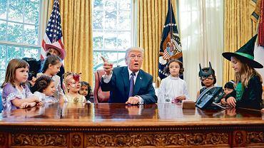 Donald Trump podczas Halloween