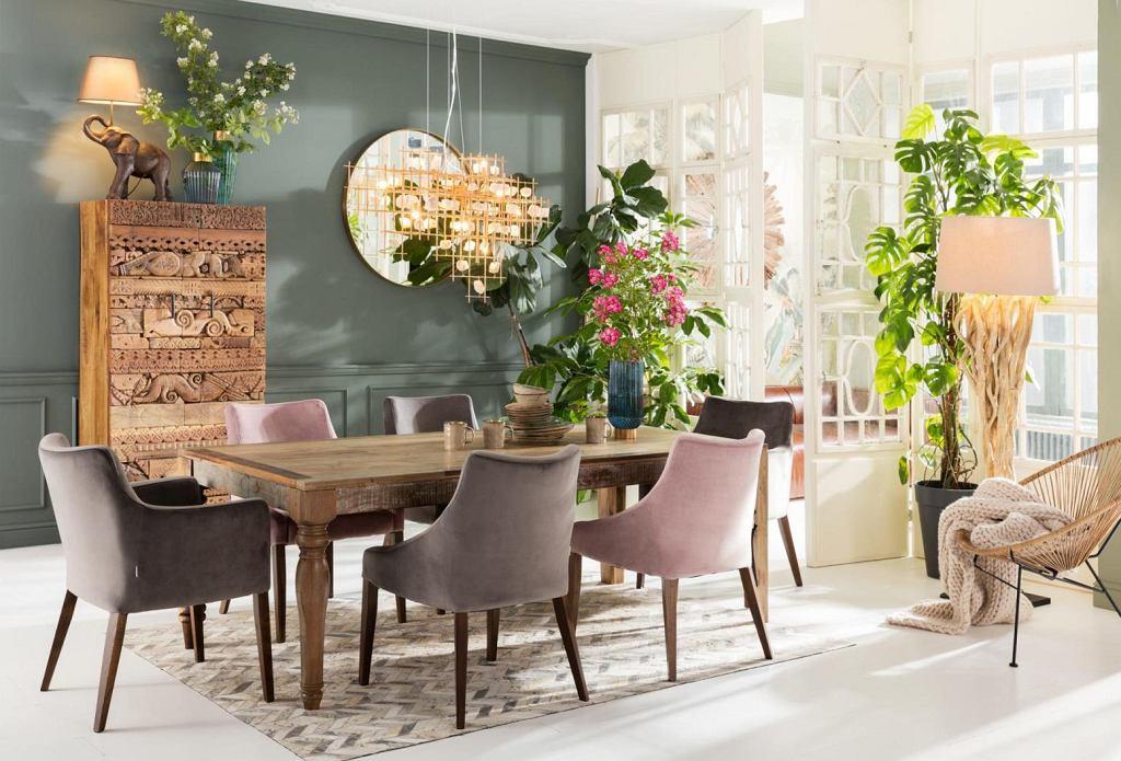 Stylowe krzesła do modnej jadalni