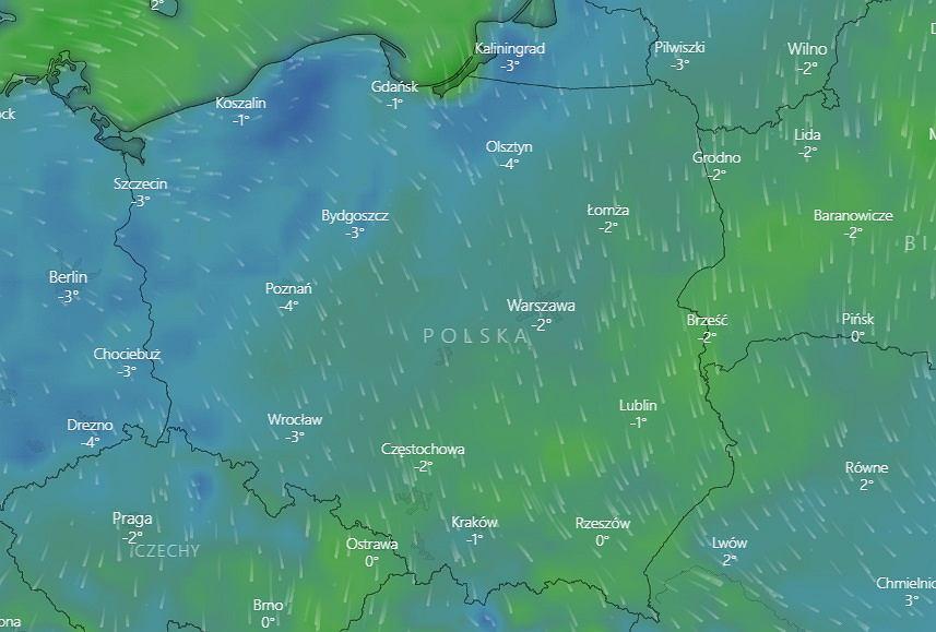 Do Polski wracają przymrozki