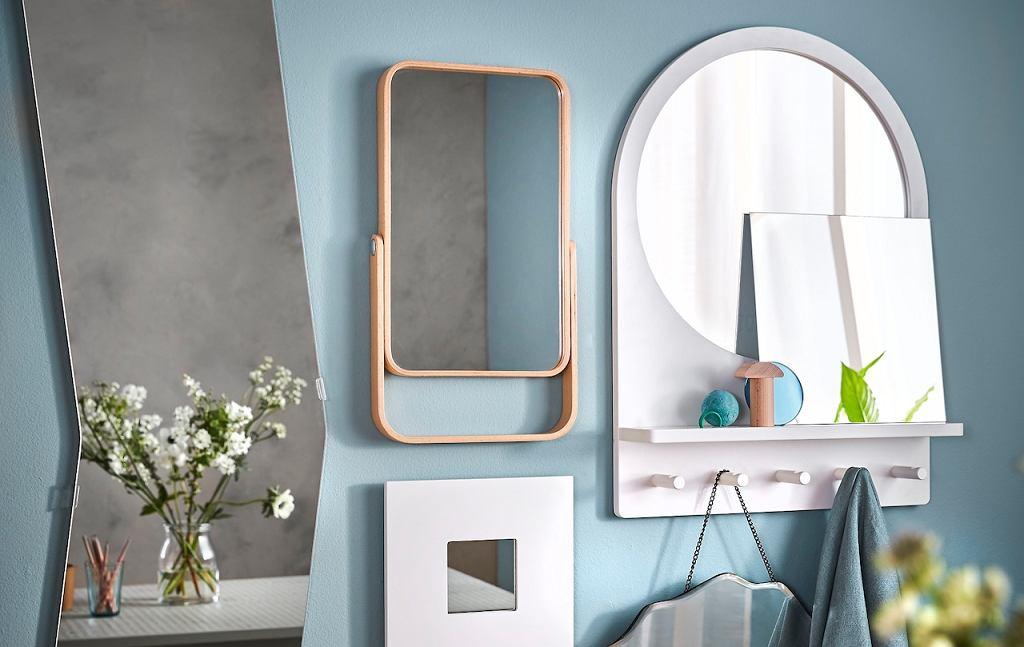 Lustro Ikea - okrągłe, kwadratowe, a może prostokątne?