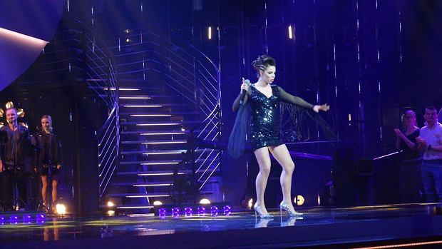 Żelka na scenie Idola