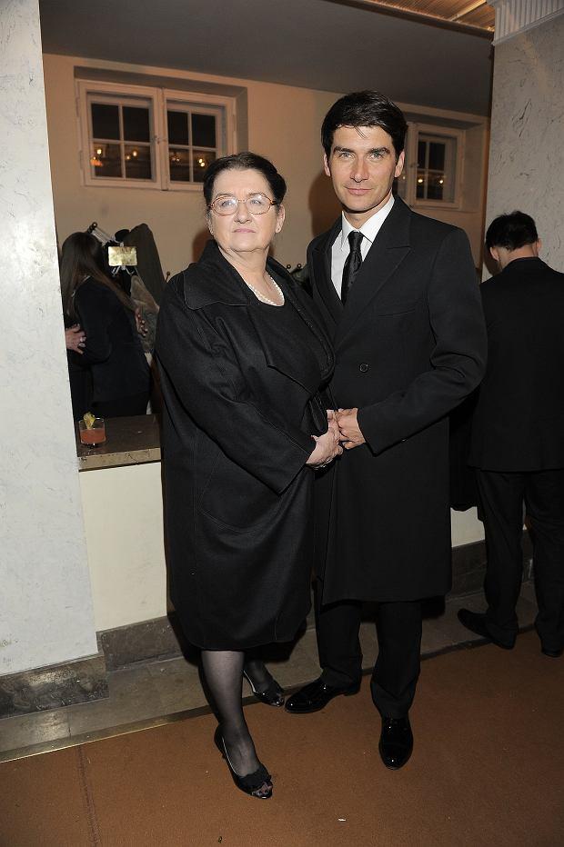 Tomasz Kammel z mamą