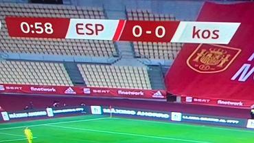 Hiszpania - Kosowo w hiszpańskiej telewizji TVE