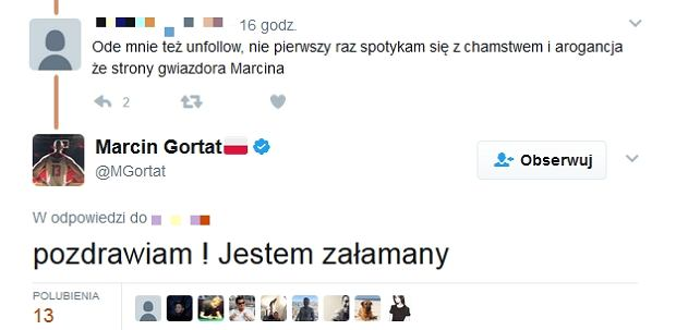 Screen z Twitter.com/MGortat