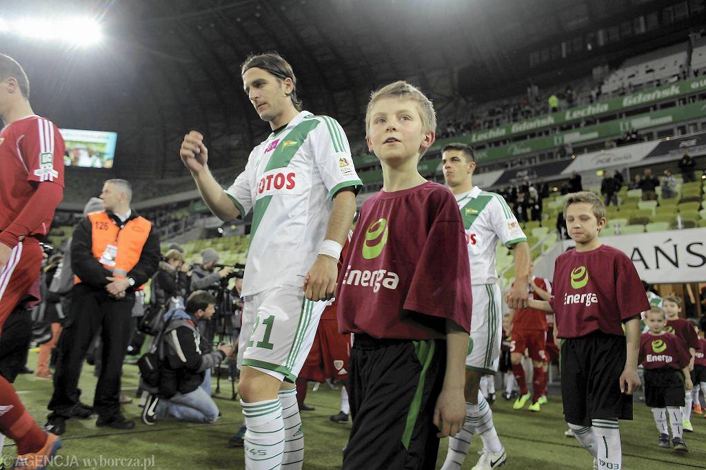 Lechia Gdańsk - Piast Gliwice 3:1. Stojan Vranjes