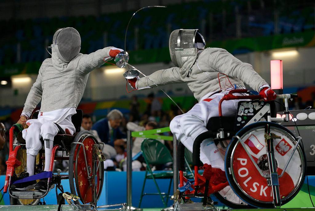 Szablista Adrian Castro wywalczył brązowy medal igrzysk paraolimpijskich w Rio de Janeiro