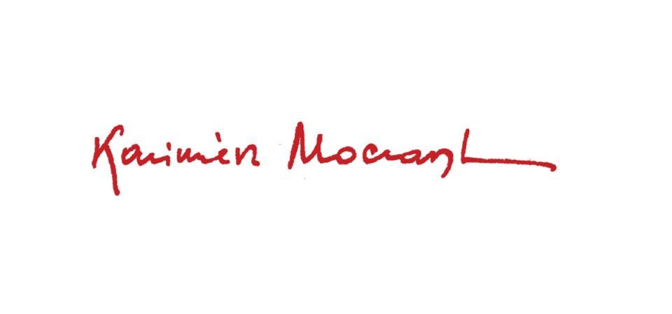 Podpis Kazimierza Moczarskiego