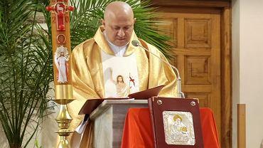 Ks. Janusz Czajka, proboszcz parafii w Łąkcie Górnej