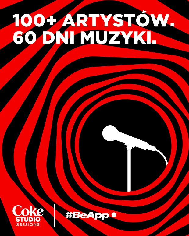 Coca-Cola i #BeApp wspólnie organizują koncerty Coke Studio Sessions