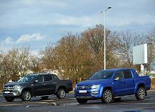 Opinie Moto.pl: VW Amarok 3.0 TDI vs. Mercedes X350d - porównanie. Pickupy z wyższej półki