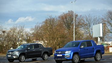 VW Amarok 3.0 TDI vs. Mercedes X350d