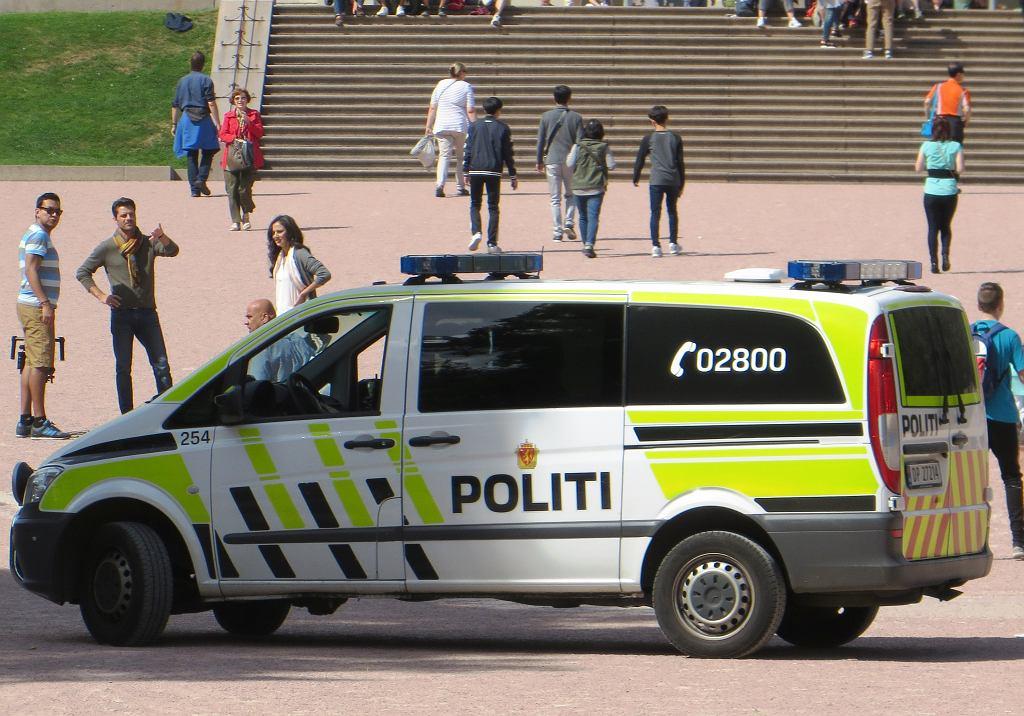 Norwegia, policja (zdj. ilustracyjne)
