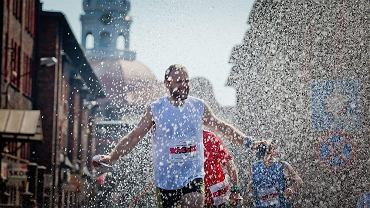 Silesia Marathon ma ulicach Nikiszowca. Rok 2012