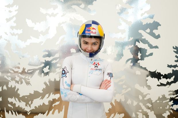 Maja Kuczynska poses for a portrait during the project Bigger than the sky in Milan, Italy on March 18, 2017 // Pietro Baroni / Red Bull Content Pool // AP-1RESBMGX11W11 // Usage for editorial use only // XICC_PROFILEHLin