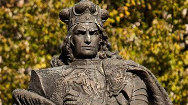 Pomnik wielkiego księcia litewskiego Witolda w Kownie