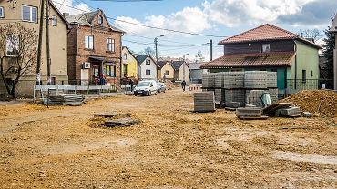 Jaworzno, miejsce remontowanego rynku w Byczynie