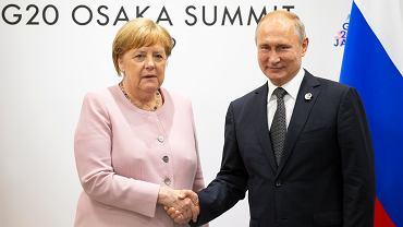 Angela Merkel i Władymir Putin