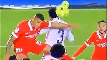 Rzut karny dla Sevilli zdenerwował Zidane'a
