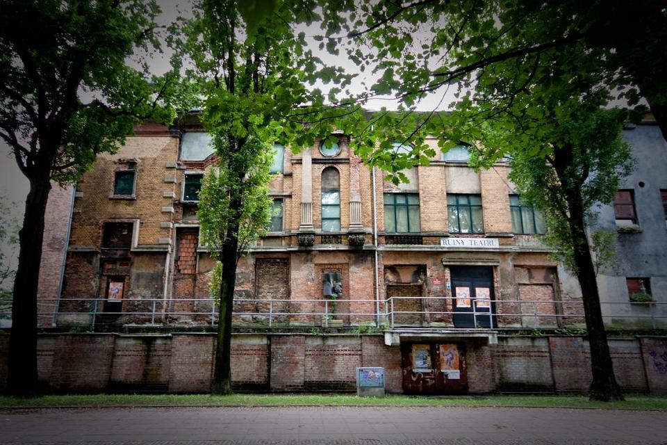 Ruiny Teatru Miejskiego Victoria w Gliwicach