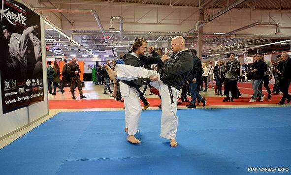 Pokazowe walki karate