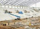 Pod stadionem GKS-u Tychy umieszczono wielkie zbiorniki. Zgadniecie po co?