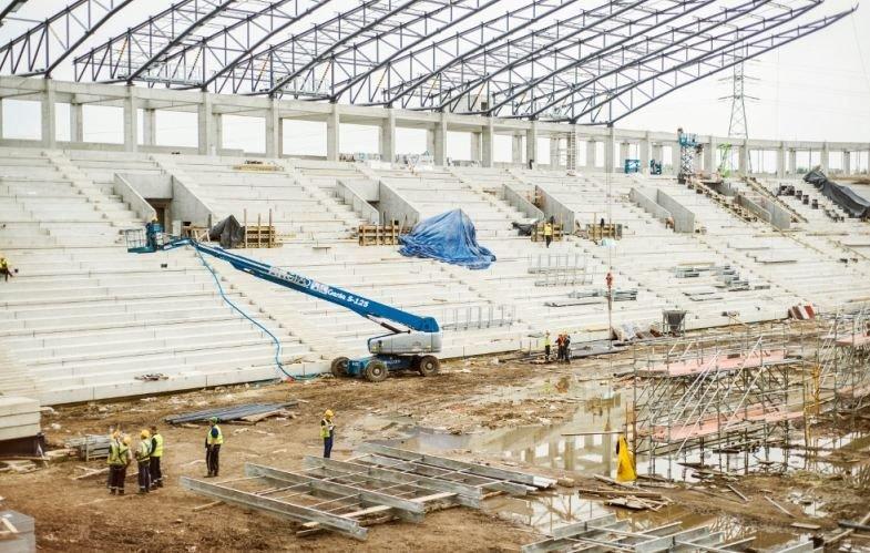Budowa stadionu GKS-u Tychy