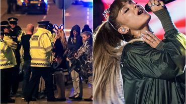 Ulice po koncercie Ariany Grande