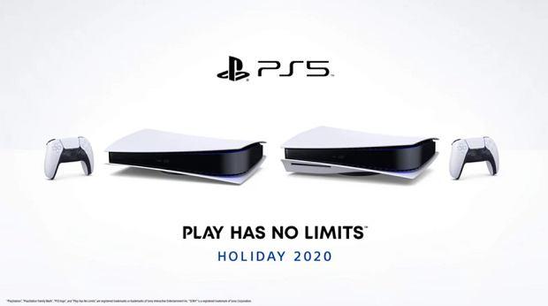 PlayStation 5 w poziomie