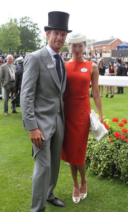 Jessica Michibata i Jenson Button