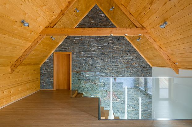 Dom w Tatrach, proj. Karpiel Steindel Fot. Daniel Rumiancew