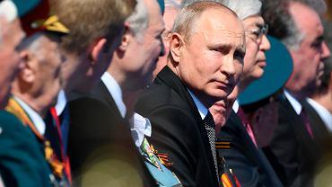 Rosyjska defilada wojskowa z okazji 75. rocznicy zakończenia II wojny światowej