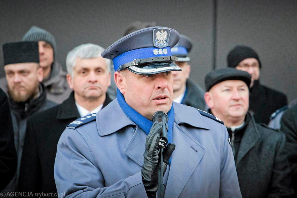 Były komendant główny policji Zbigniew Maj