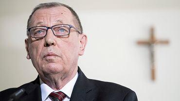 Minister środowiska w rządzie PiS Jan Szyszko