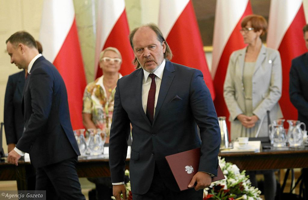 Rafał Jankowski w Pałacu Prezydenckim
