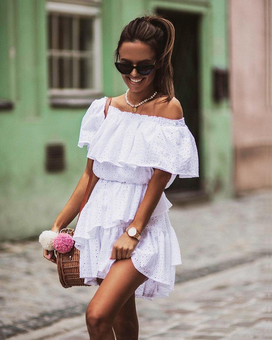 Ażurowa sukienka na lato
