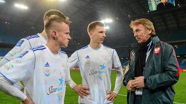 Lech Poznań - Błękitni Stargard Szczeciński 5:1 w Pucharze Polski. Zbigniew Boniek i piłkarze Błękitnych