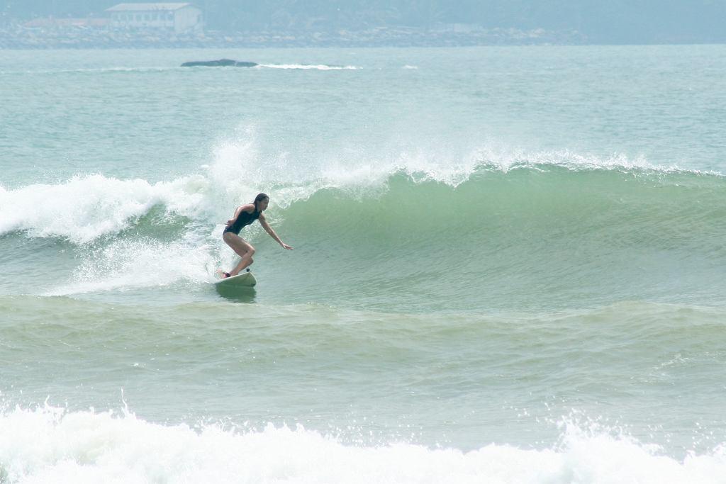 Monika Kołaczkiewicz - surferka, działa w Bałtyckim Stowarzyszeniu Surfingu BSSurf