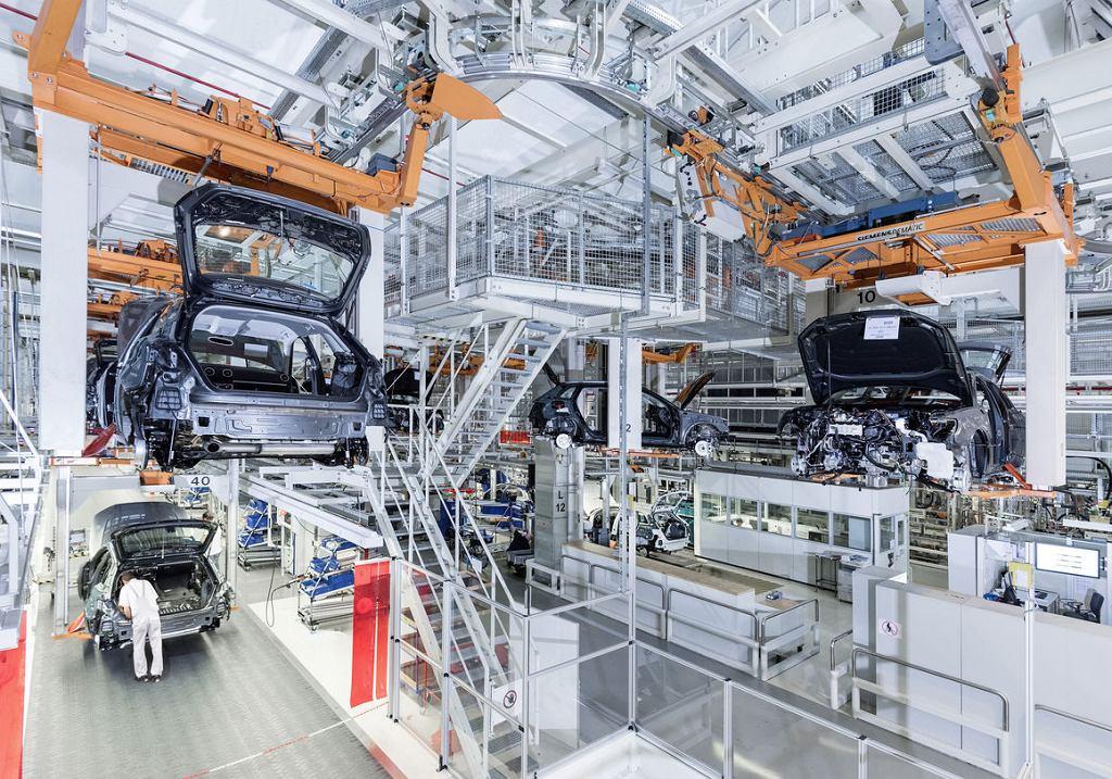 Fabryka Audi w Ingolstadt w Niemczech