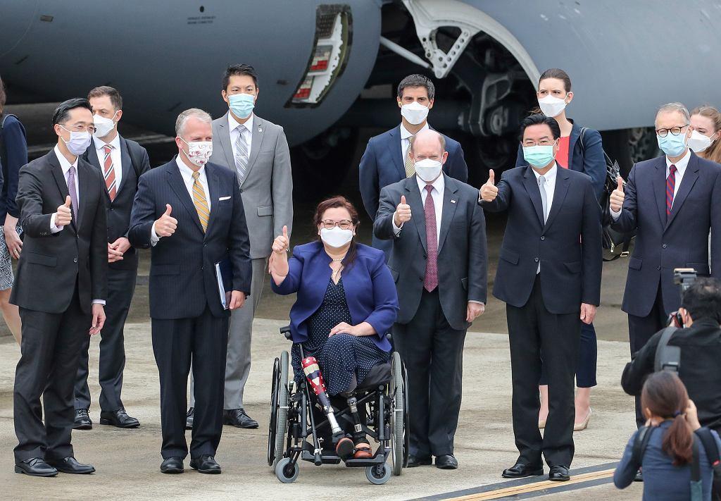 Wizyta amerykańskiej delegacji na Tajwanie