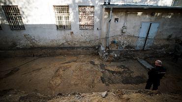 W dawnym areszcie przy Rakowieckiej odkryto kolejne szczątki ludzkie