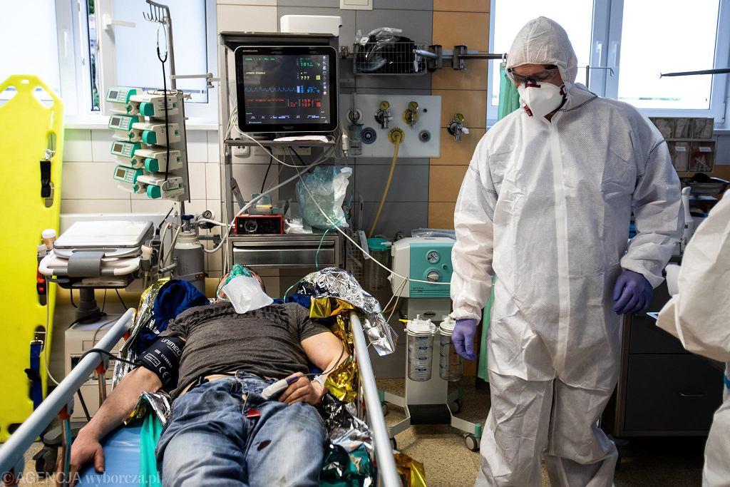 Pandemia koronawirusa. Samodzielny Publiczny Szpital Kliniczny Nr 4 w Lublinie