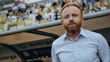 Trener Lechii Piotr Stokowiec