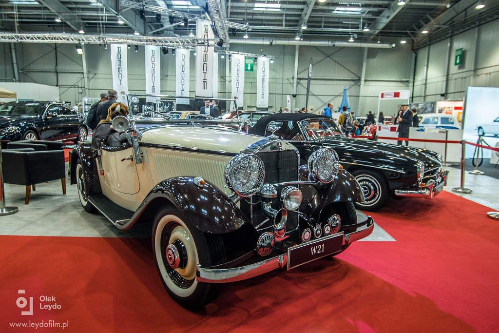 Zabytkowe Mercedesy na Retro Motor Show Poznań